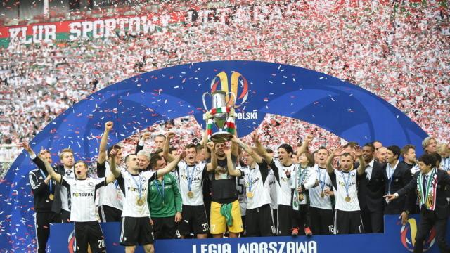 Legia z Pucharem Polski! Lech nie wykorzystał szansy Legia z Pucharem Polski! Lech nie wykorzystał szansy