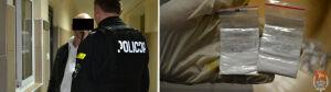Usłyszał zarzuty za napaść na policjanta i narkotyki