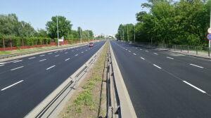 Nowy asfalt na Wale Miedzeszyńskim. Remont skończyli przed czasem