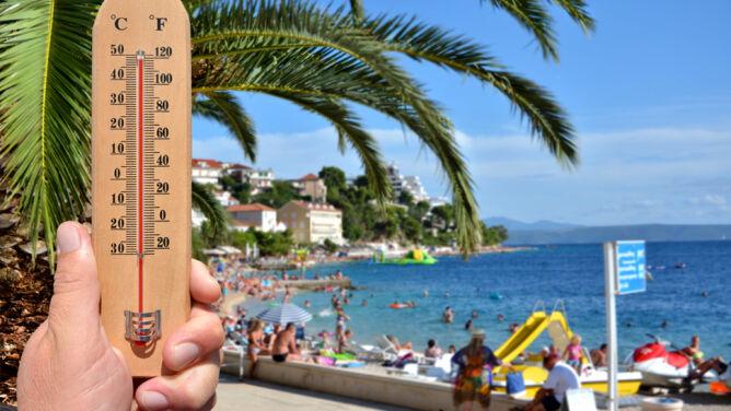 Chorwacja: za dnia prawie 40, nocą co najmniej 30 st. C. Adriatyk jak zupa