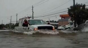 Powodzie w USA