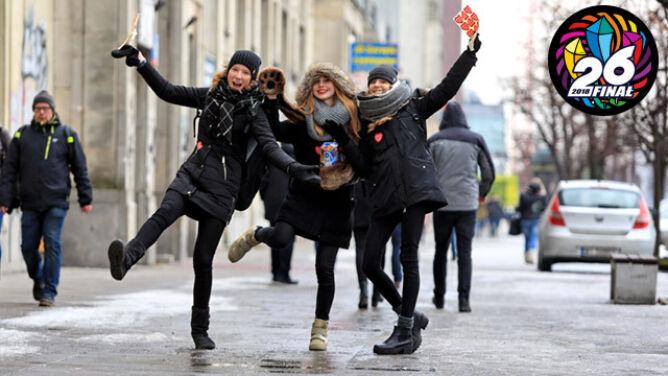 Zalecamy rękawiczki. Prognoza pogody na finał Wielkiej Orkiestry Świątecznej Pomocy