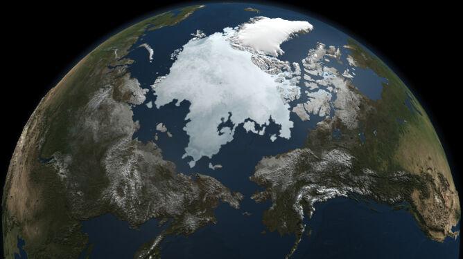 Zadziwiająca sytuacja. W Arktyce dodatnia temperatura, a w Rosji -40 st. C