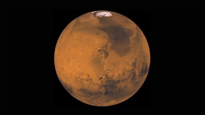 Nadchodzi wielkie zbliżenie Marsa. <br />Będzie najjaśniejszym punktem na niebie