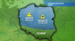 Warunki drogowe w piątek 02.10