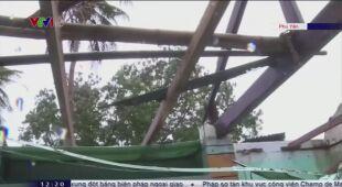Tajfun Molave uderzył w Wietnam